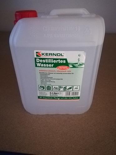 Laborwasser Aqua Dest