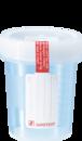 Urinbecher steril mit Schraubdeckel, transparent