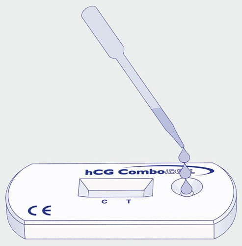 hCG Combo Ideal Kassettentest