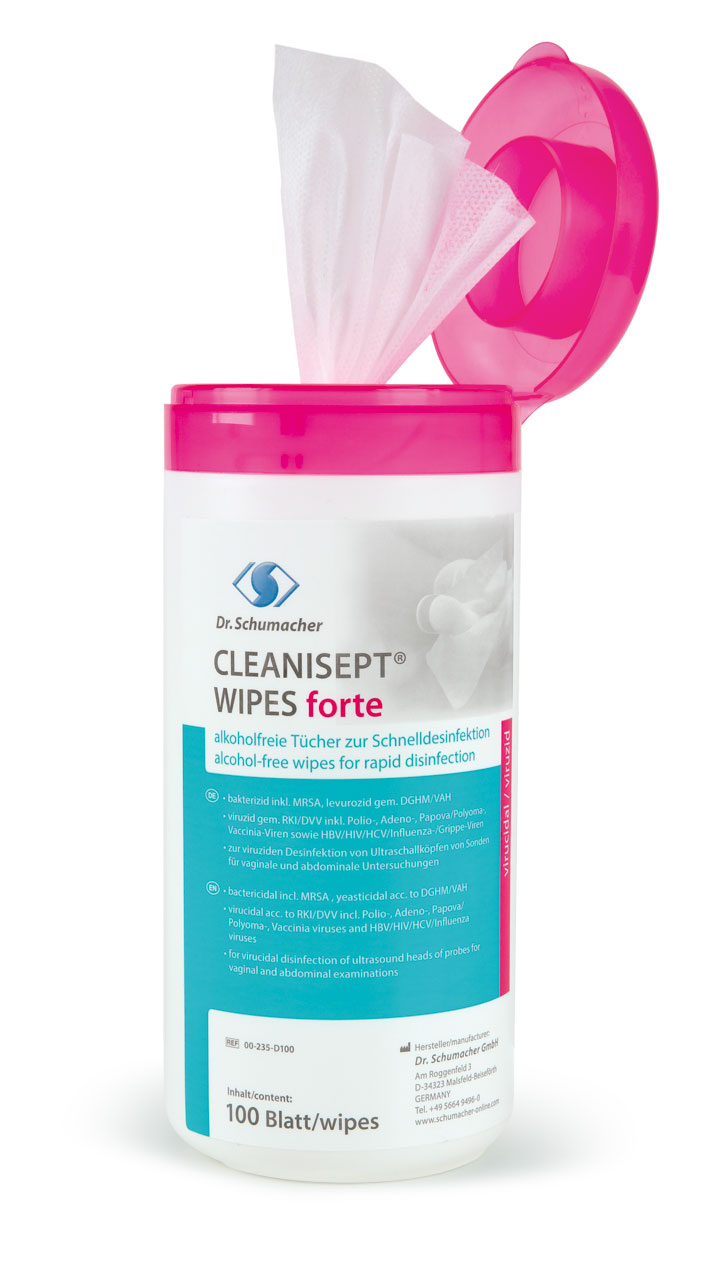 Cleanisept® Wipes forte