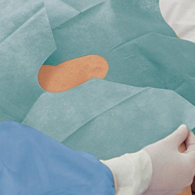 Lochtücher Foliodrape® Protect selbstklebend