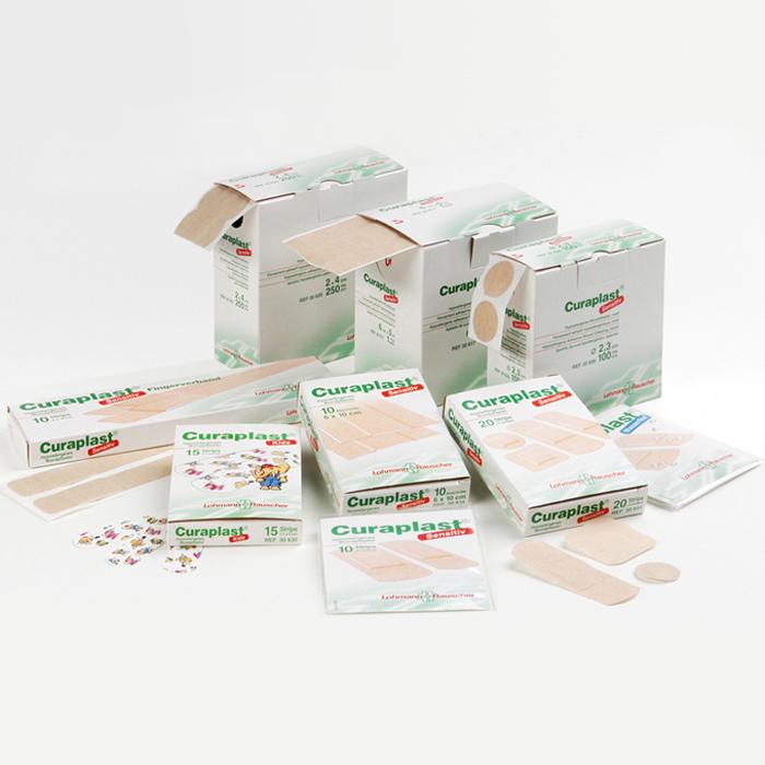 Curaplast® Sensitiv Wundpflaster
