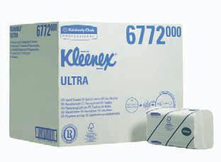Papierhandtücher Kleenex® Ultra Groß
