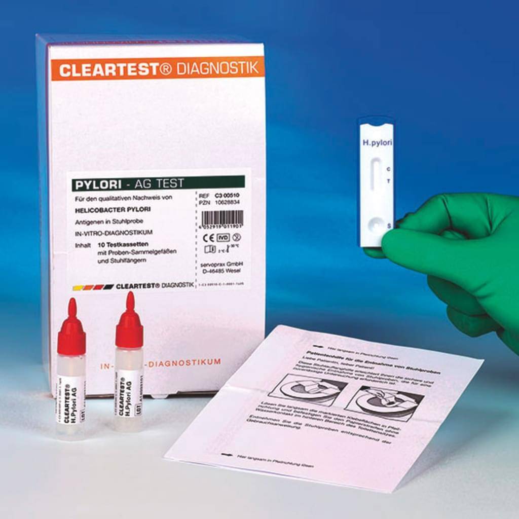 Cleartest® H. Pylori-AG Test