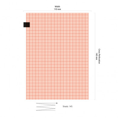 EKG-Papier Fukuda Denshi