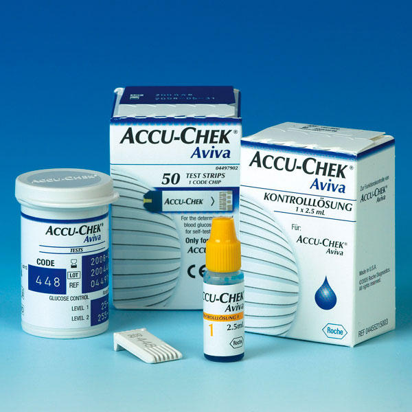 Accu Chek® Aviva Blutzuckermessung