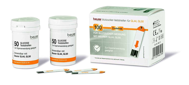 Beurer GL44/50/50 evo Blutzuckerteststreifen