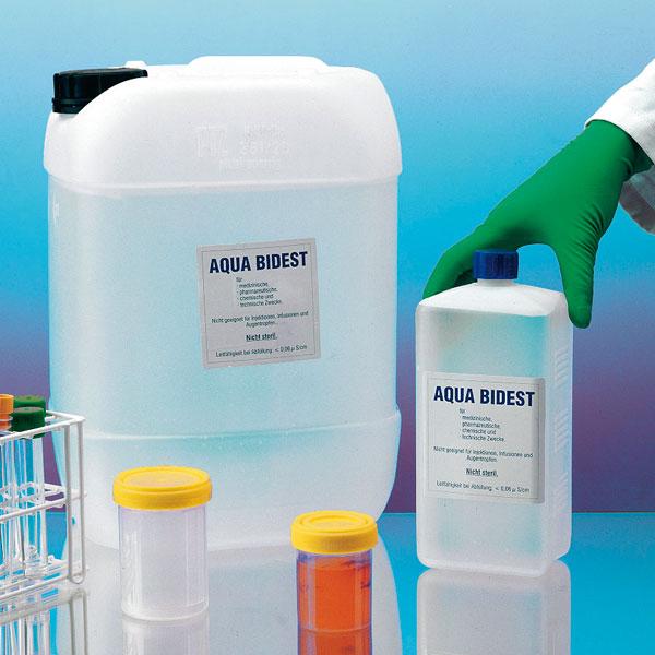 Laborwasser Aqua Bidest