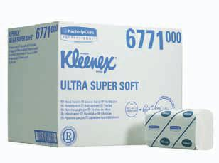 Papierhandtücher Kleenex® Super Soft  - Medium