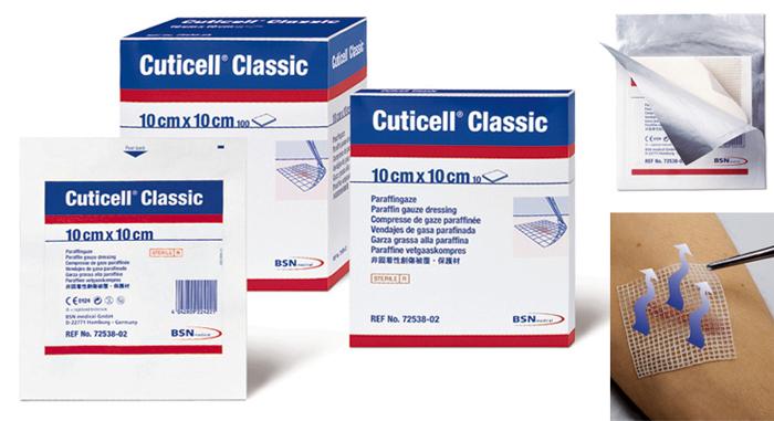 Cuticell® Classic steril Wundversorgung