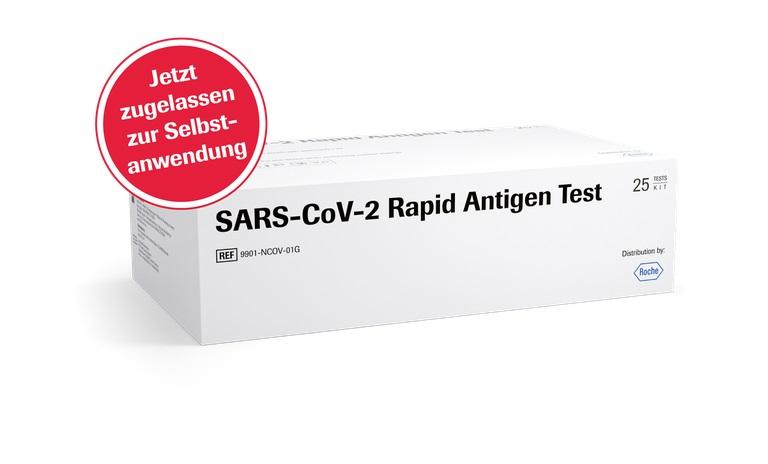 SARS-CoV-2 Rapid Antigentest Selbstanwender